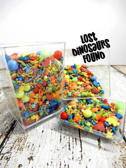 Lost Dinosaurs Found Deluxe Cupcake Sprinkles