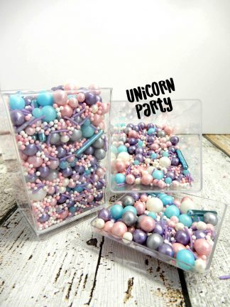 Unicorn Party Deluxe Cupcake Sprinkles Decorations