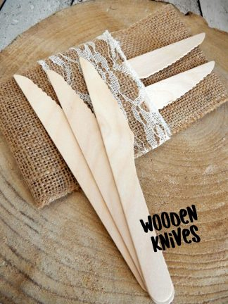 Wooden Knives Made From Sustainable Wood