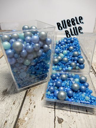 Bubble Blue Cupcake Sprinkles Shades Of Blue Baubles