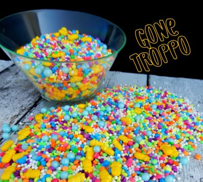 Gone Troppo A Pineapple And Tropical Blend Of Sprinkles
