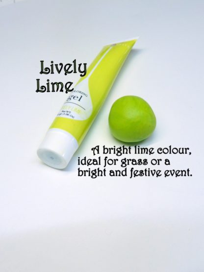 Lime Gel Squeeze Tube Paste Food Colourings Fondant Icing Cookie Dough