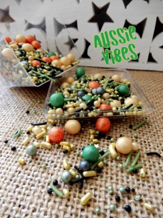 Merry Christmas Colours Sprinkles In Australia Day Greens Gold Mixes Celebrations