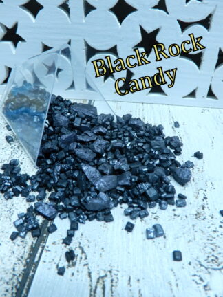 Black Rock Sugar Candy Geode Cave Coal Pirate Treasure Gems Crystals Cake Decoration Sprinkles