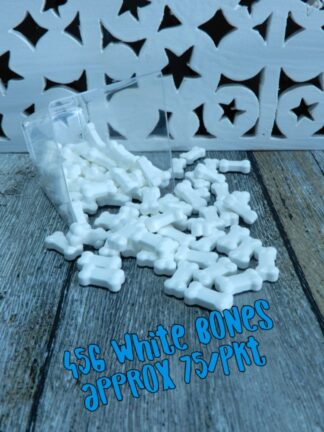 Large White Bluey Bones Treats Blend With Bones Sprinkles Pile Decorating Cup Cakes Decorations