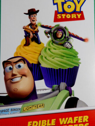Buzz And Woody Cake Packet Display Cupcake Wafer Decorations 16 Precut Pop Out Toy Story