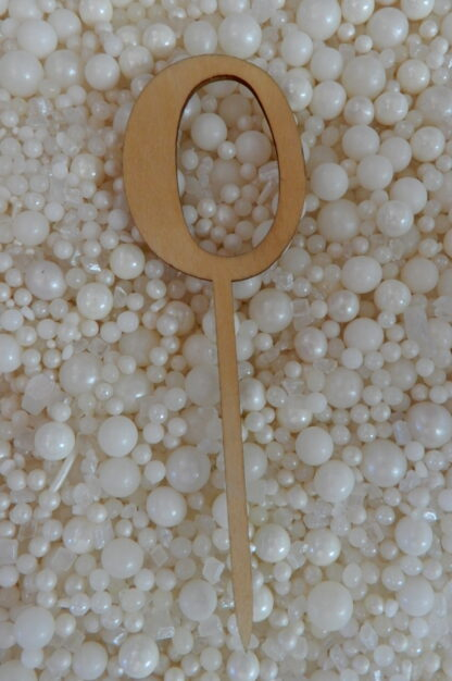 Number 0 Zero Nought Matches Hello Raw Natural Cake Topper To Match With Numbers 1 2 3 4 5 6 7 8 9 0 18 21 10 16 29 20