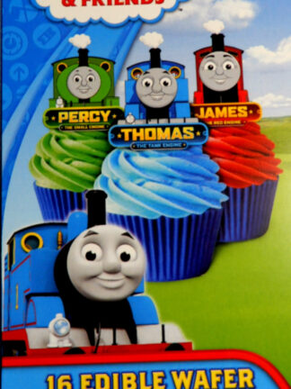 Thomas And Friends 16 Edible Wafer Cupcake Decorations James Thomas Percy Toppers