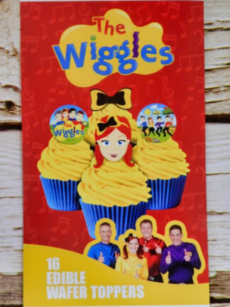 Wiggles Cake Packet Display Cupcake Wafer Decorations Cover 16 Precut Pop Out Emma Anthonu Lauchy Simon Box Group Allbutthecake