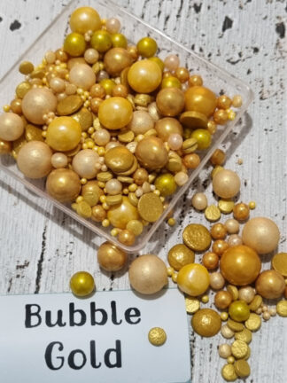 Bubble Golds Pearls Edible Sprinkles Blend Candy Sequins Edible Cake Decorations.jpg